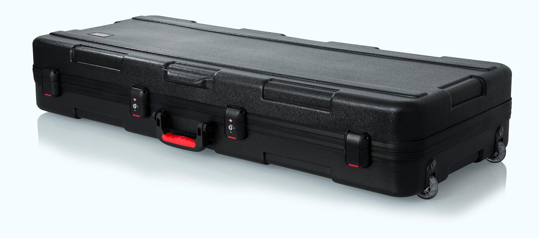 TSA Series ATA Molded 61-Note Keyboard Case with Wheels