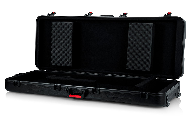 TSA Series ATA Molded 76-Note Keyboard Case with Wheels