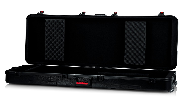 TSA Series ATA Molded 88-Note Keyboard Case with Wheels