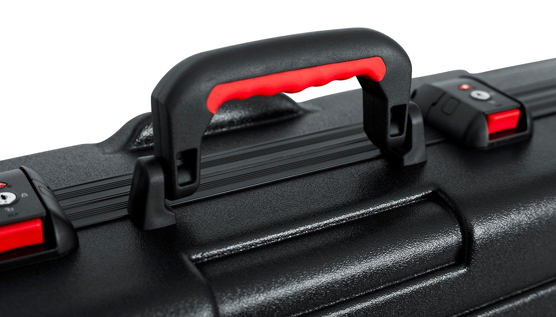 TSA Series ATA Molded Deep 88-Note Keyboard Case with Wheels
