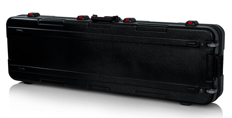 TSA Series ATA Molded Slim 88-Note Keyboard Case with Wheels