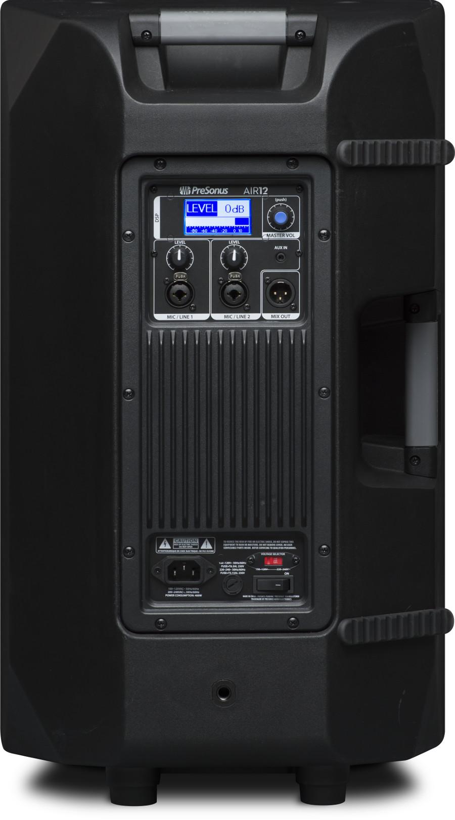 """1 x 12"""" 2-Way Active Sound-Reinforcement Loudspeaker"""