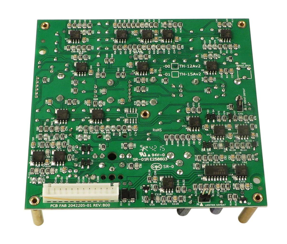 ASP PCB Assembly for TH-12aV2