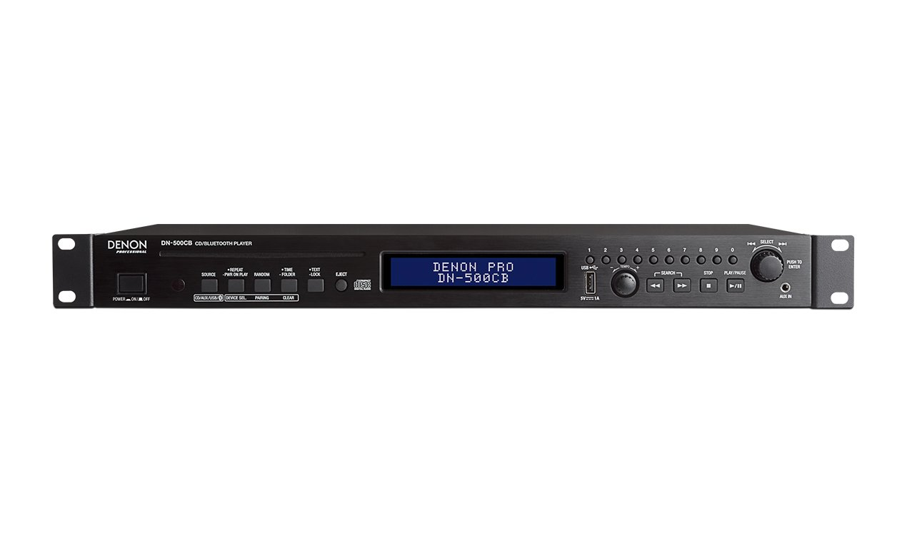 Denon DN-500CB CD Player with Bluetooth, USB and Aux Inputs DN-500CB