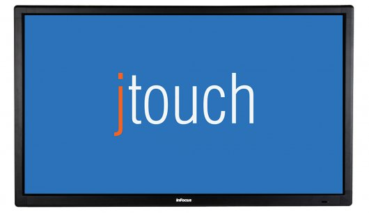 "57"" (Diagonal) Interactive Touch Display with Table Stand"