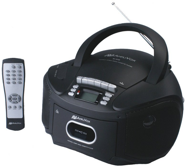 Boombox with Remote Control