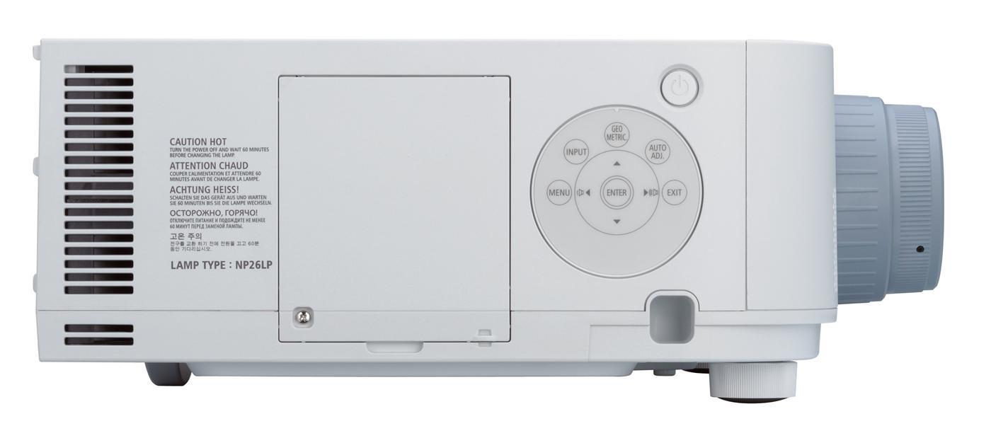 7200 Lumen XGA LCD Installation Projecor - Body Only