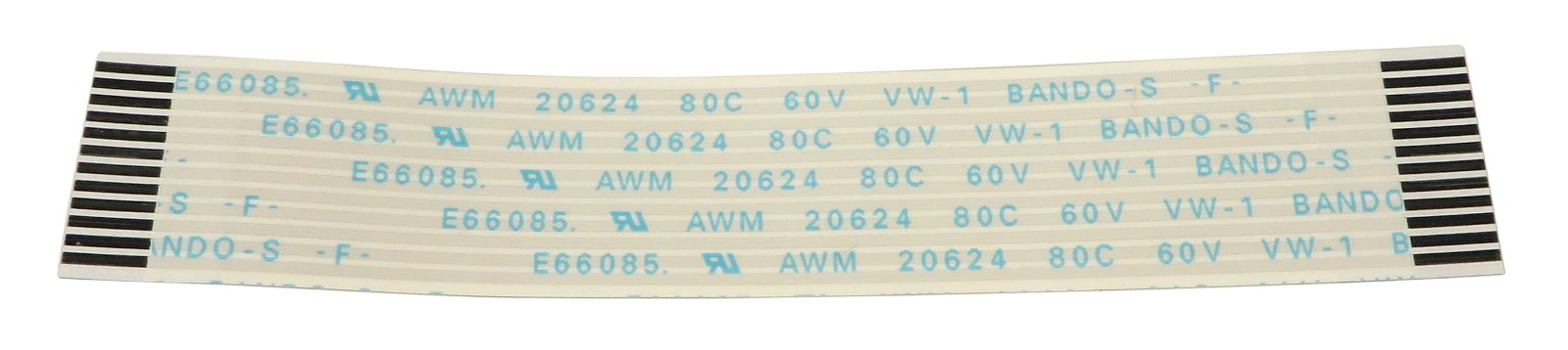 FCC 12P 80MM Ribbon Cable for M7CL