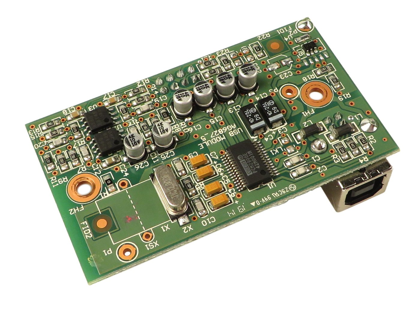 USB PCB for ZED Series