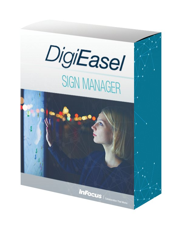 Interactive Sign Management Software for PC