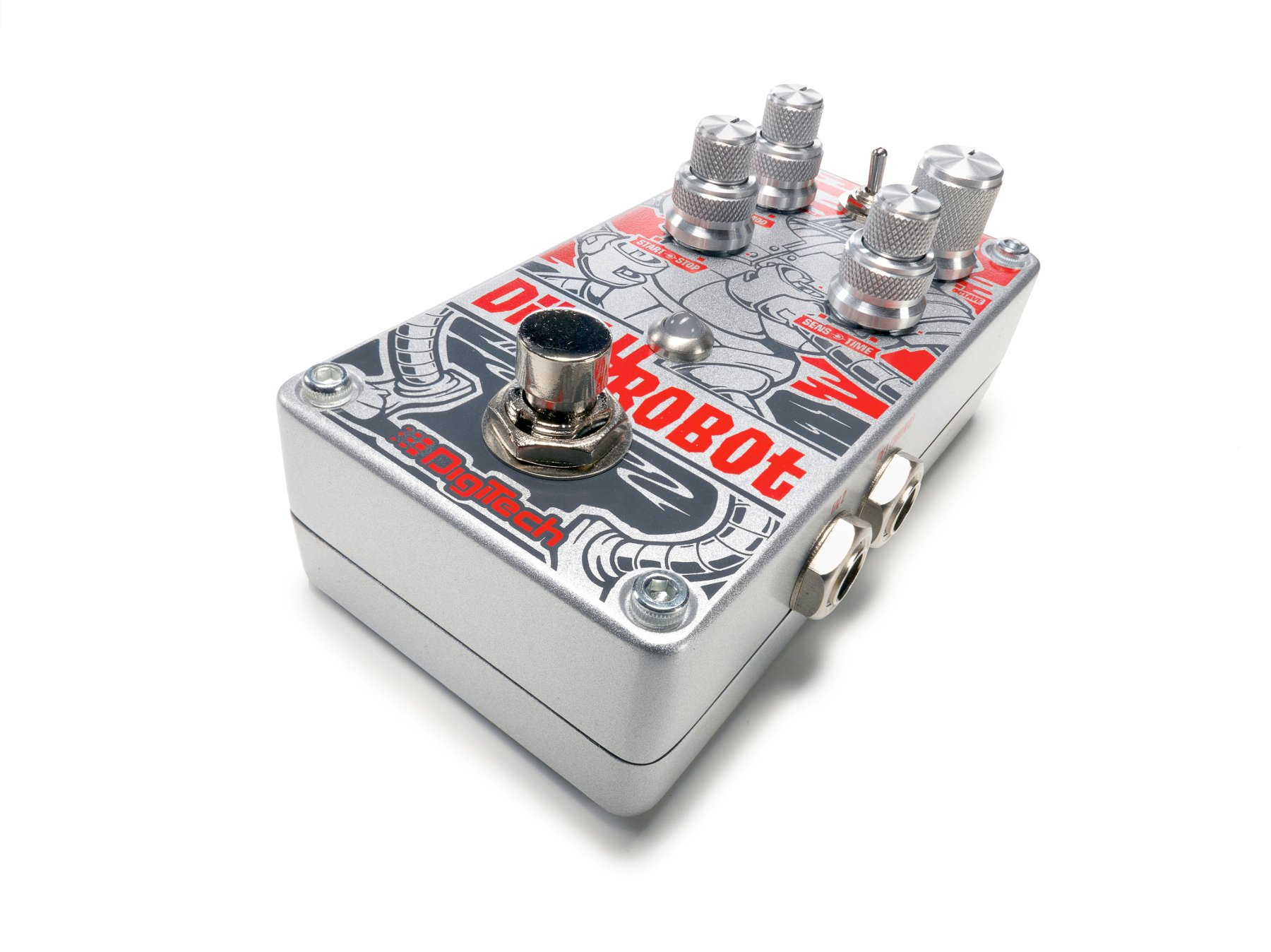 Stereo Mini-Synth Guitar Pedal