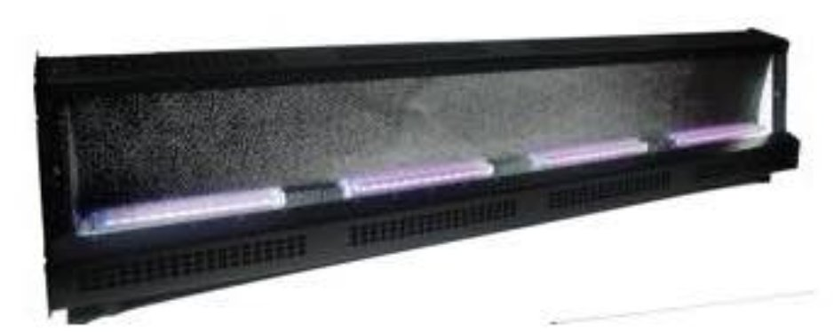 400W, Black LED Cyc Spectra