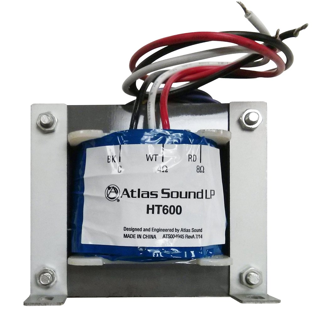 Atlas Sound HT600  600-Watt 70.7V Line Transformer  HT600