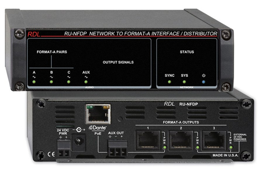 Network to Format-A Interface/Distributor, With PoE