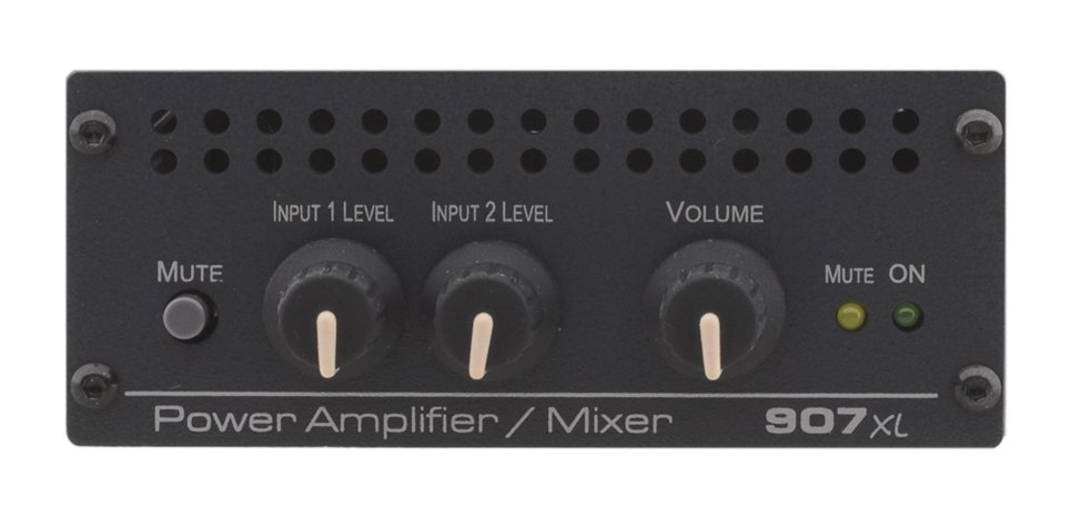 Stereo Power Amplifier/Mixer, 40W