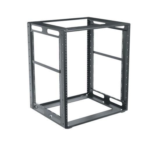 "10RU, 23"" Deep CFR Series Cabinet Frame Rack"