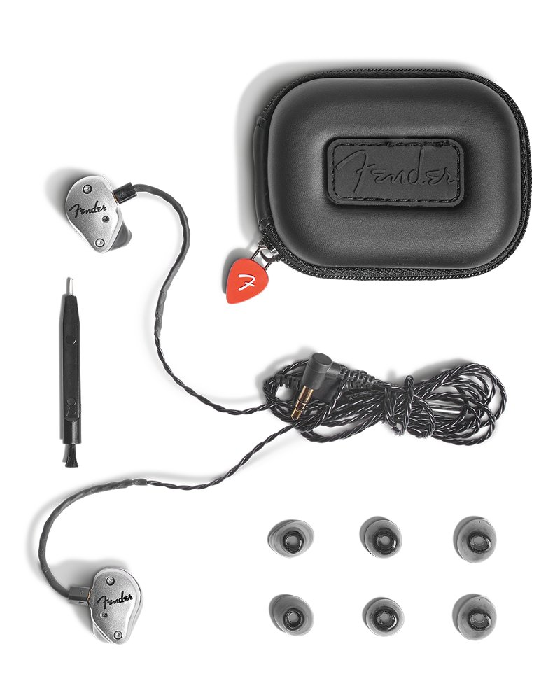 Professional In-Ear Monitors With Dual Balanced Armature Array