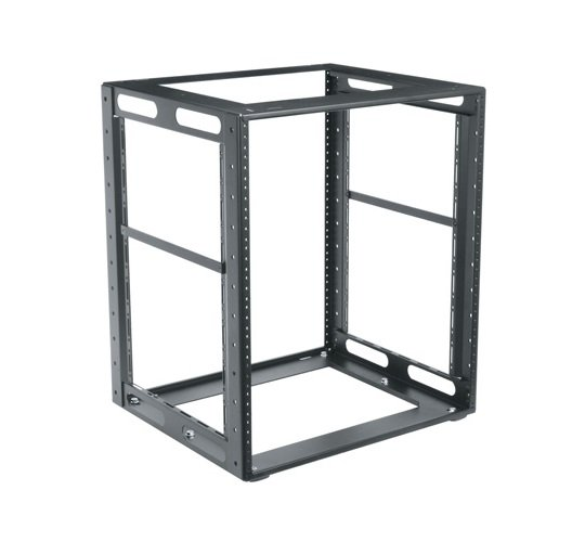 "16RU, 16"" Deep CFR Series Cabinet Frame Rack"