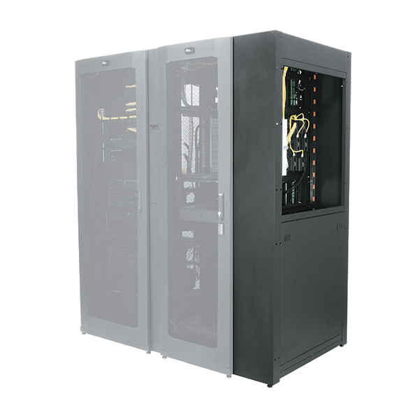 """SNE Series Cable Chase for 45RU, 36"""" Deep Enclosures"""