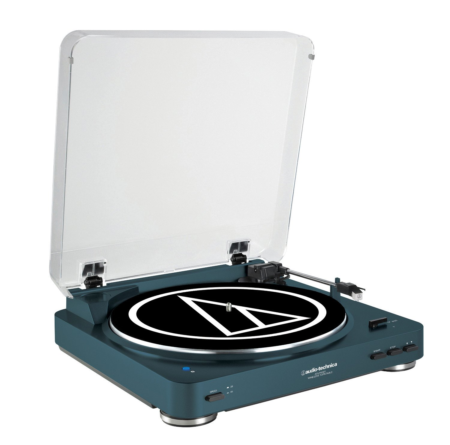 Belt Drive Stereo Turntable With Bluetooth