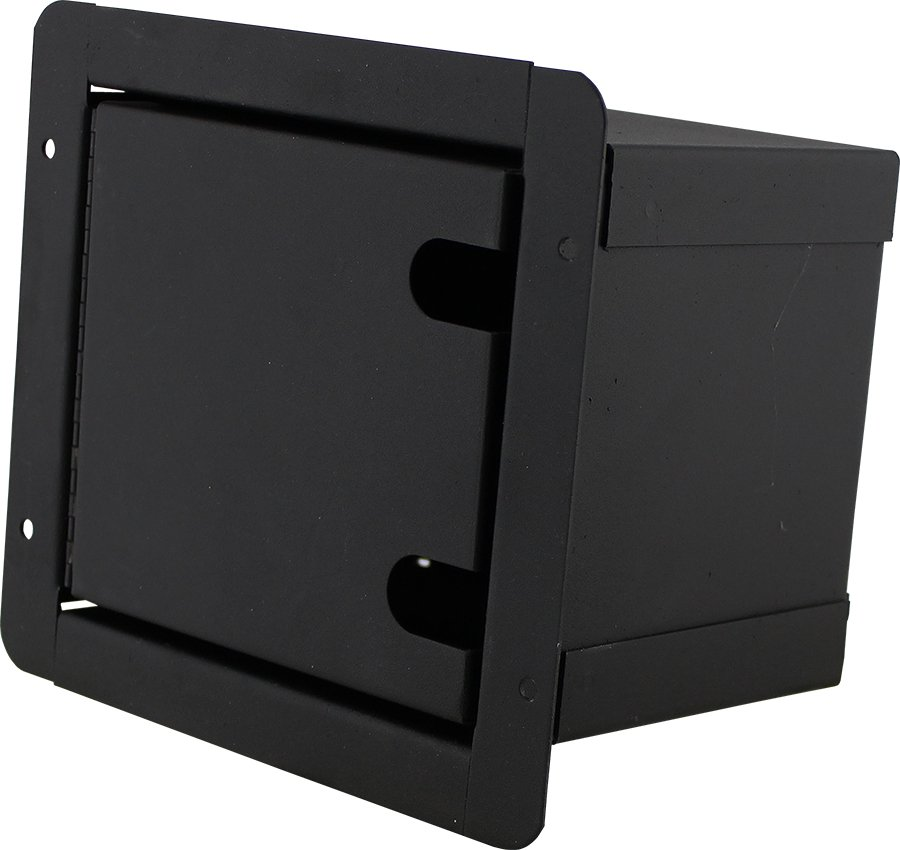 """Sound Pocket Mini Recessed Floor Box with 6 Connector Holes """"D"""" Series"""