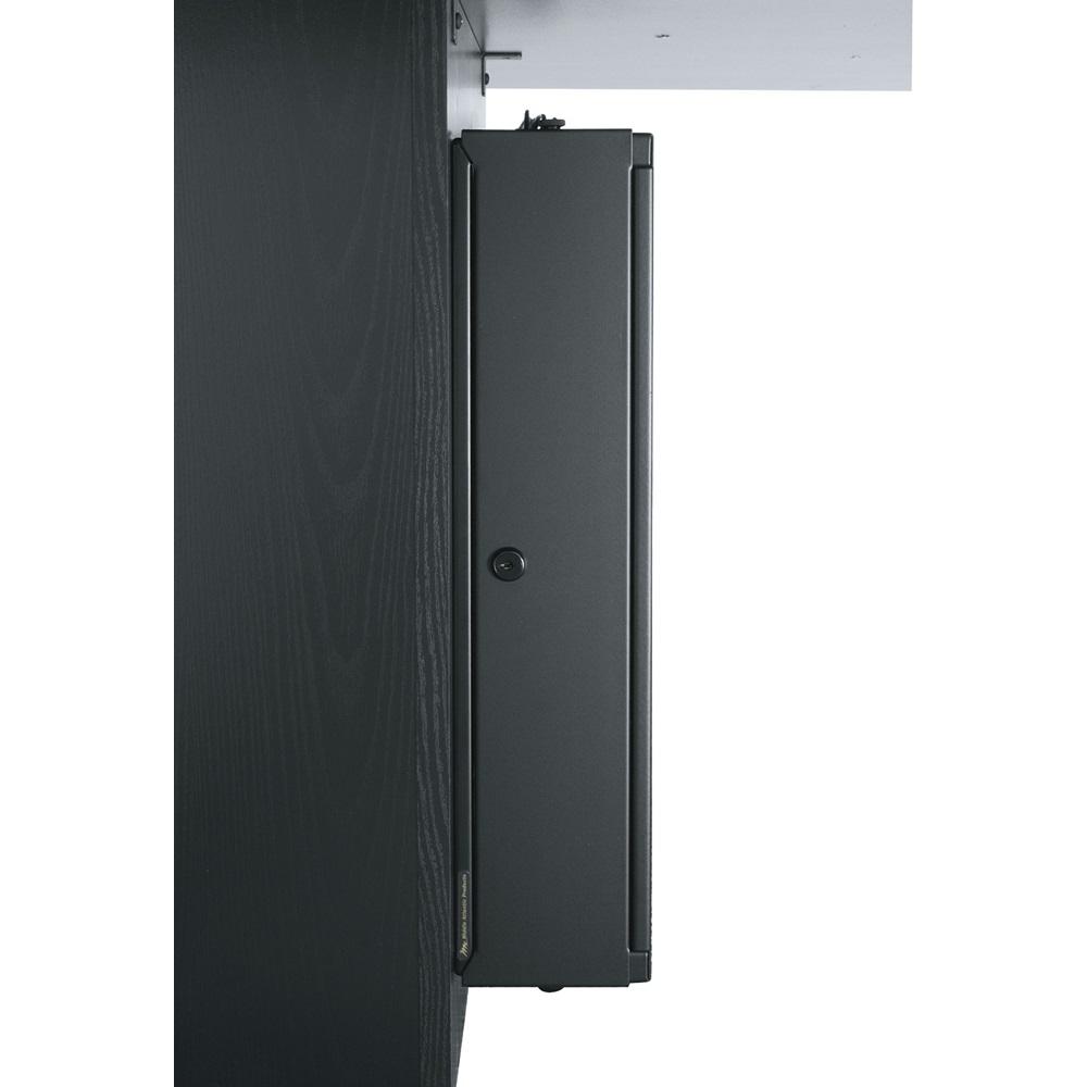 Low-Profile Height-Adjustable Surface Mount Rack, Half-Rack Version