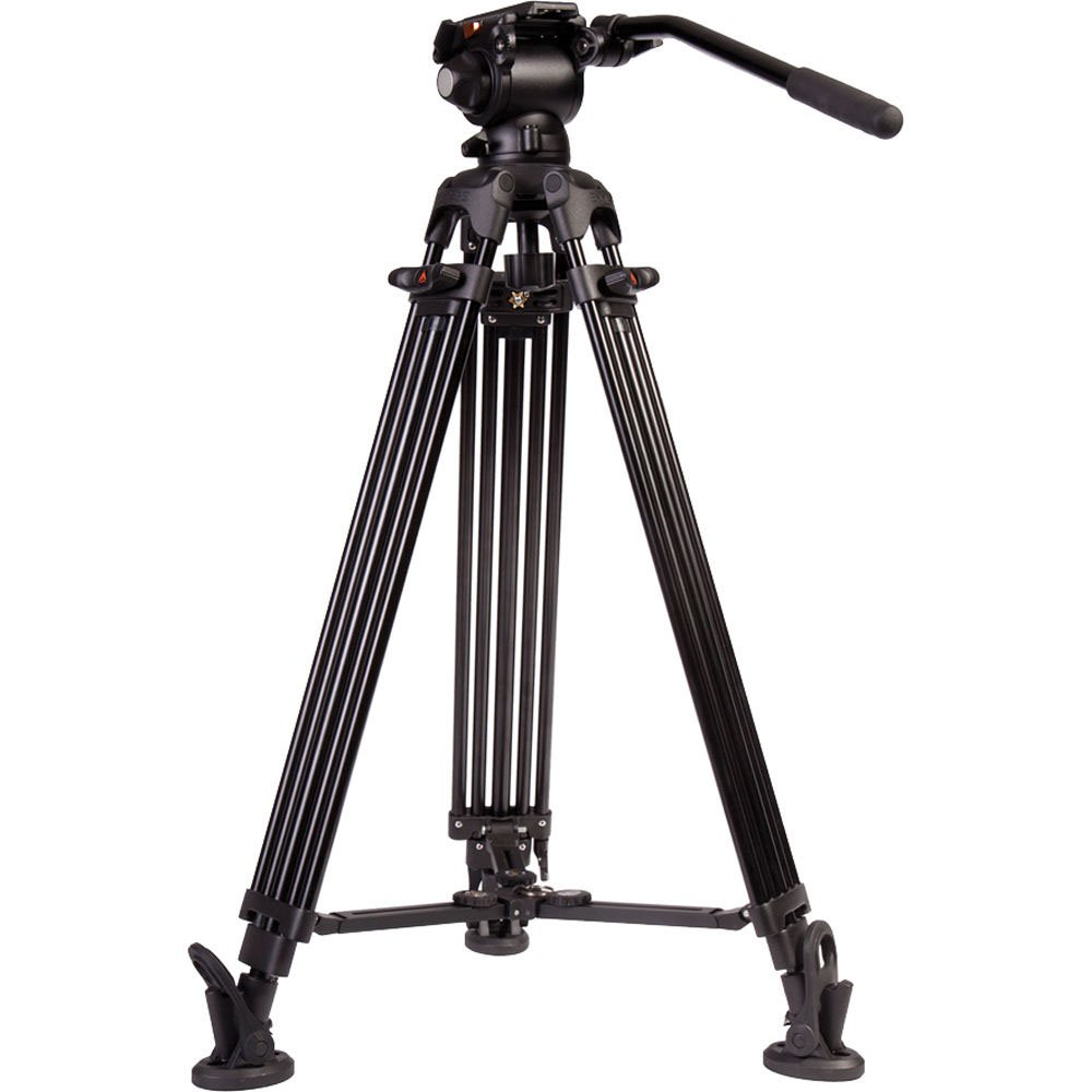 2-Stage Aluminum Tripod System with E-Image GH03 Head
