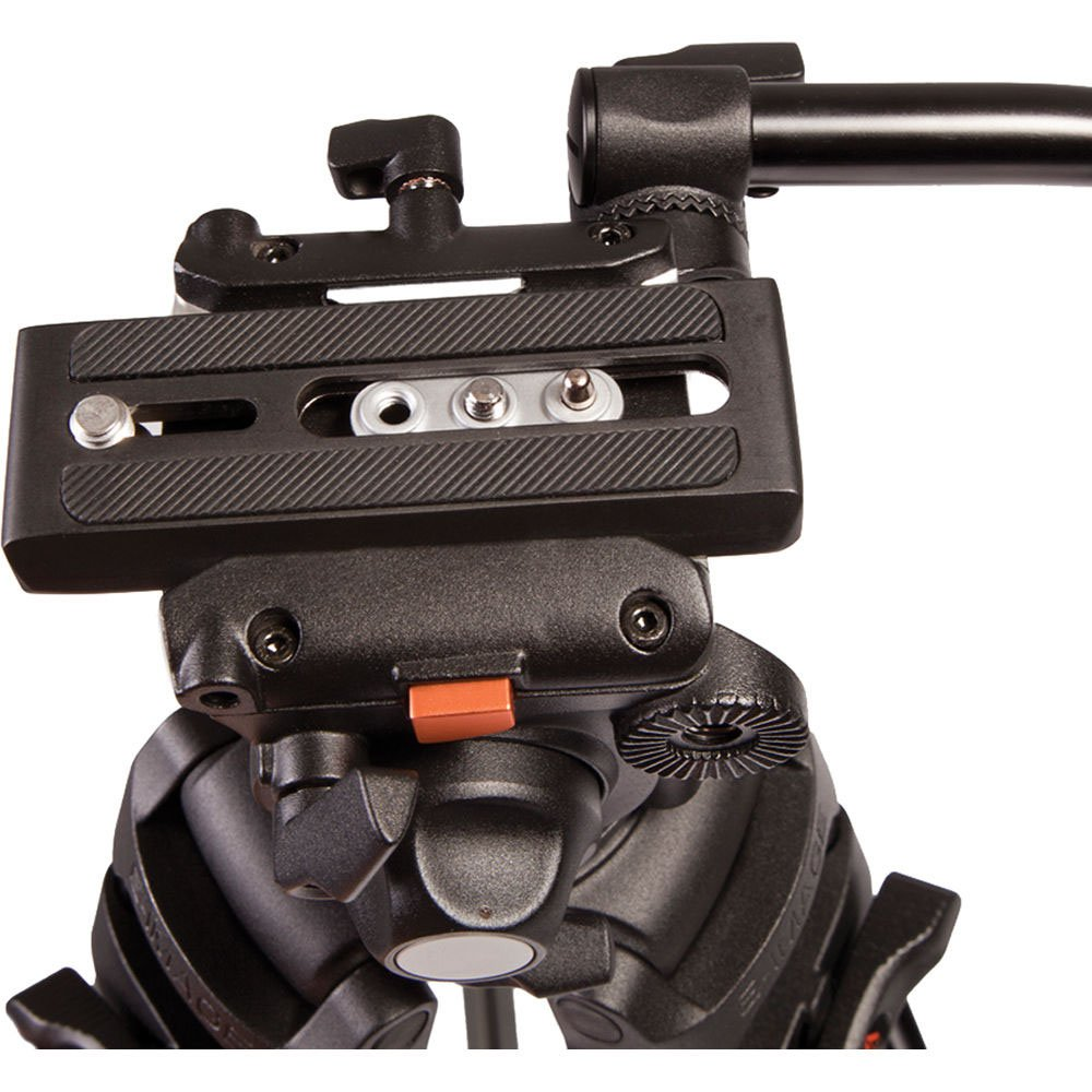 2 Stage Aluminum Tripod System With E Image Gh03 Head By Ikan