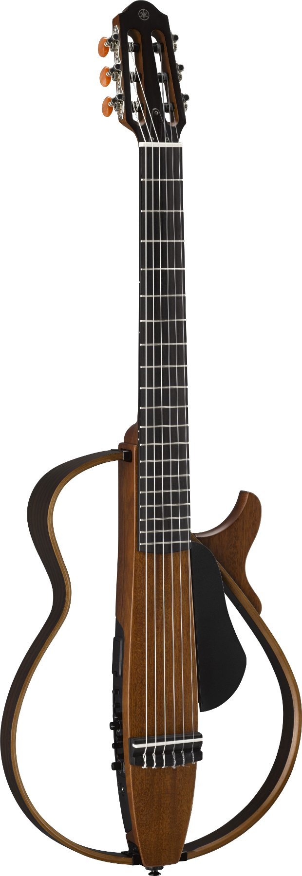 SILENT Nylon-String Guitar, Natural Finish
