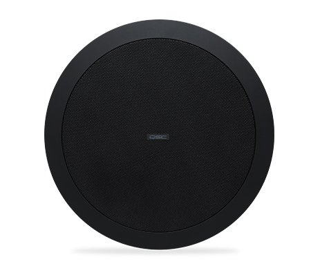 "QSC AD-C6T 6"" Ceiling speaker, Black, Sold In Pairs AD-C6T-BK"