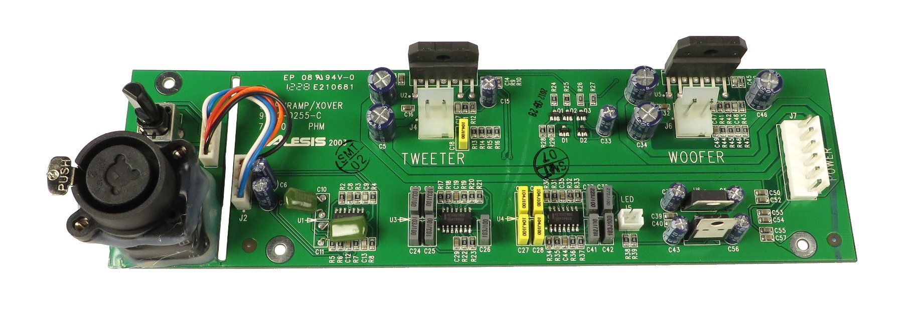 Amp PCB for M1ACTIVE MKII