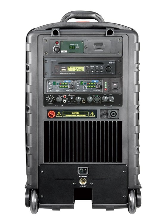 Portable Wireless PA System, 267W