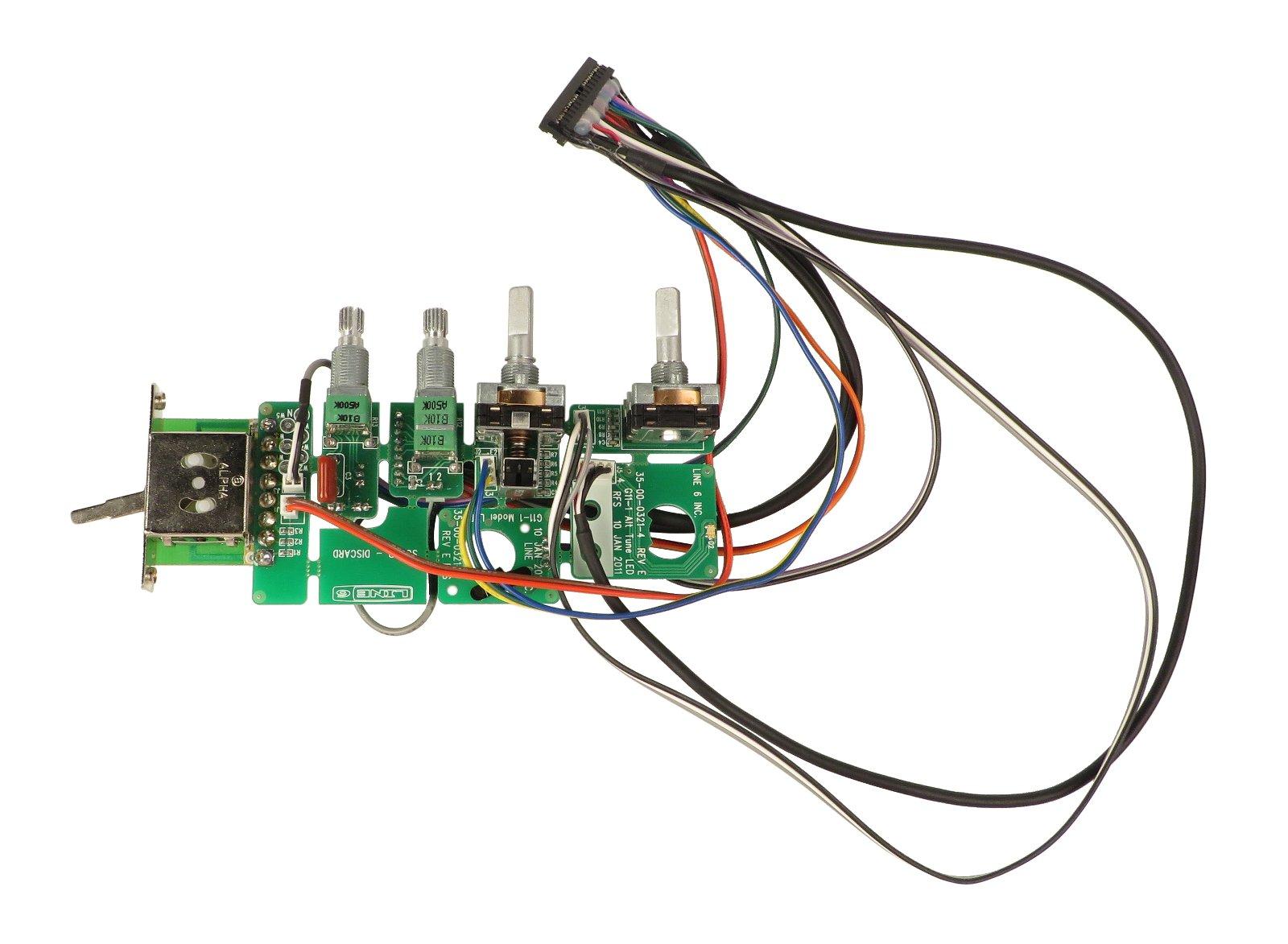 JTV69 UI PCB