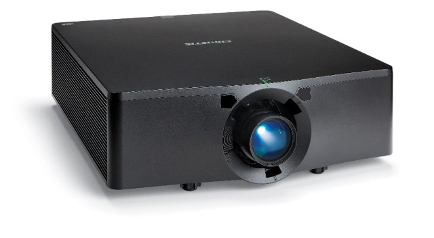 13000 Lumen 1-DLP Solid State WU Black Projector Without Lens