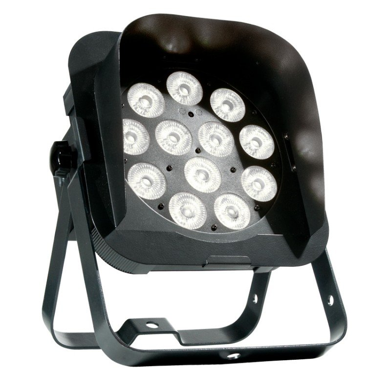 12 x 5W RGBW LED Slim Par Fixture with DMX