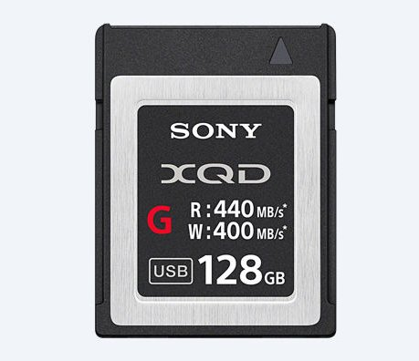128GB XQD, 440MB/s G Series Memory Card