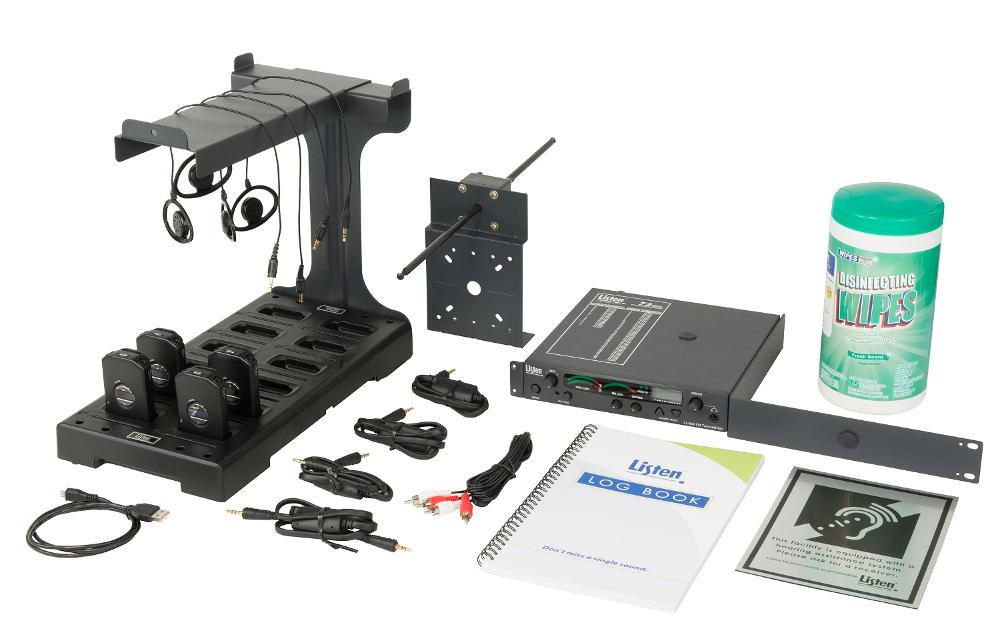 Listen iDSP Prime Level IV Stationary RF System, 72 MHz