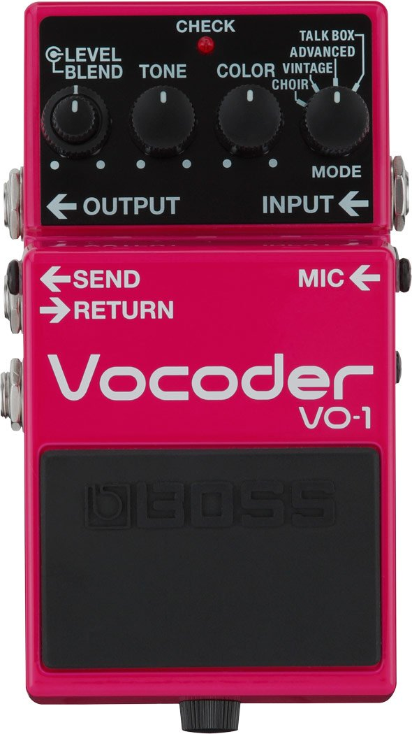 Vocoder Effects Pedal