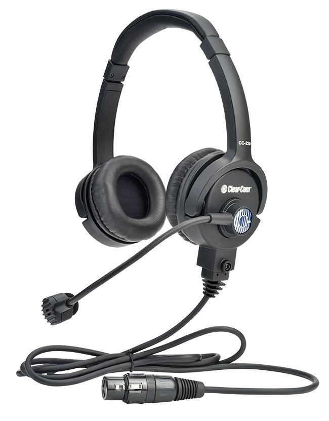 Lightweight Double-Ear Standard HS XLR-4F