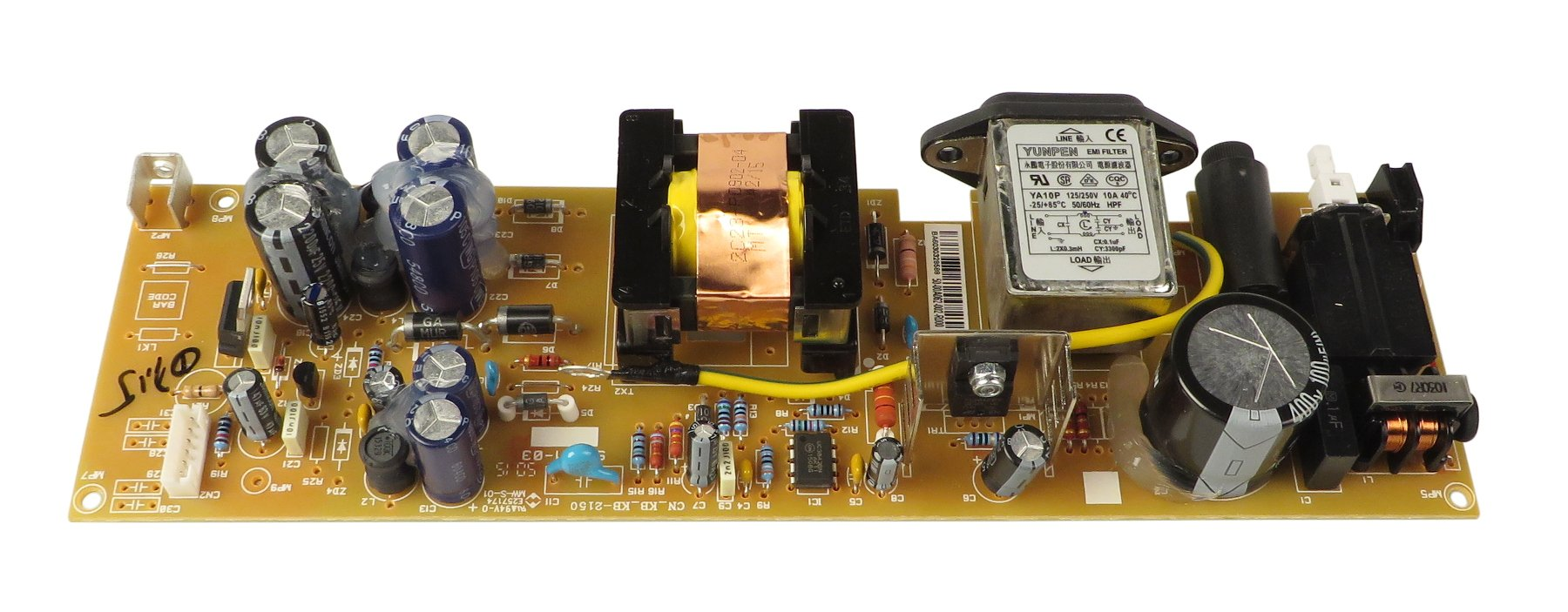 Power Supply PCB for MFXi 12 and MFX20