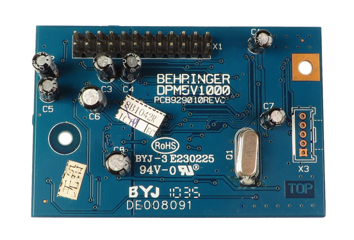 Effects PCB Assembly for Xenyx 2442FX