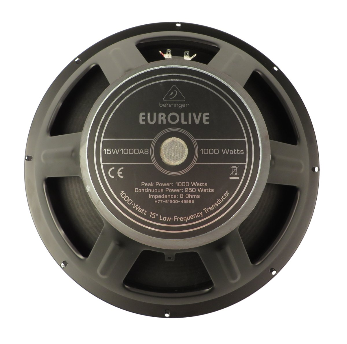 "15"" Woofer for B215D and B1520 Pro"