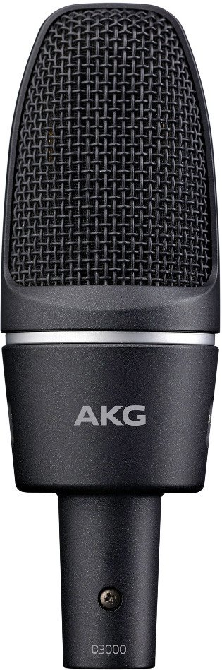 Large Diaphragm Cardioid Condenser Microphone with H85 Shockmount