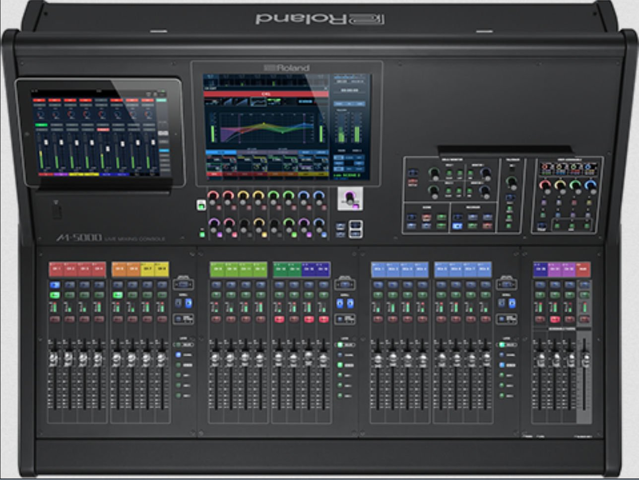 Live Mixing Console and 2 free S-2416 digital snakes