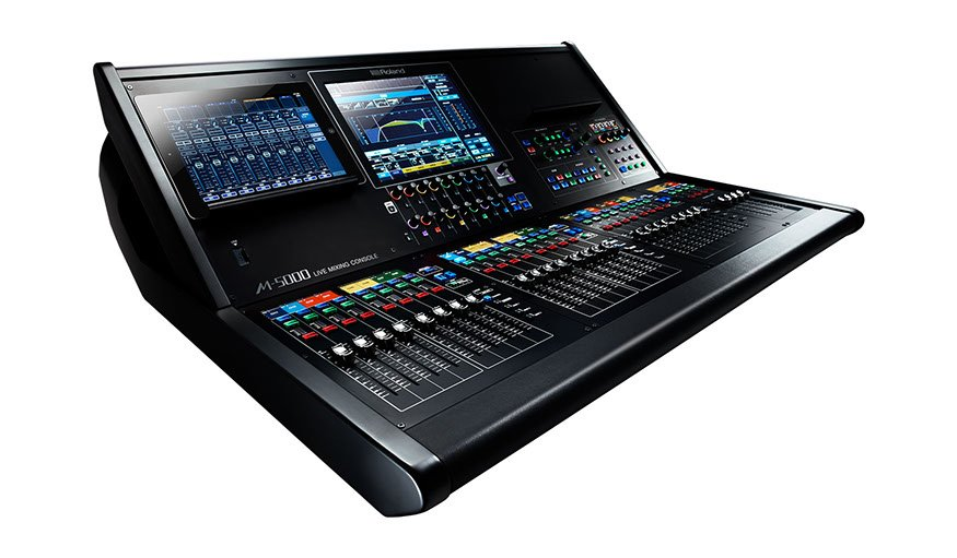 Live Mixing Console with FREE S-2416 Digital Snake