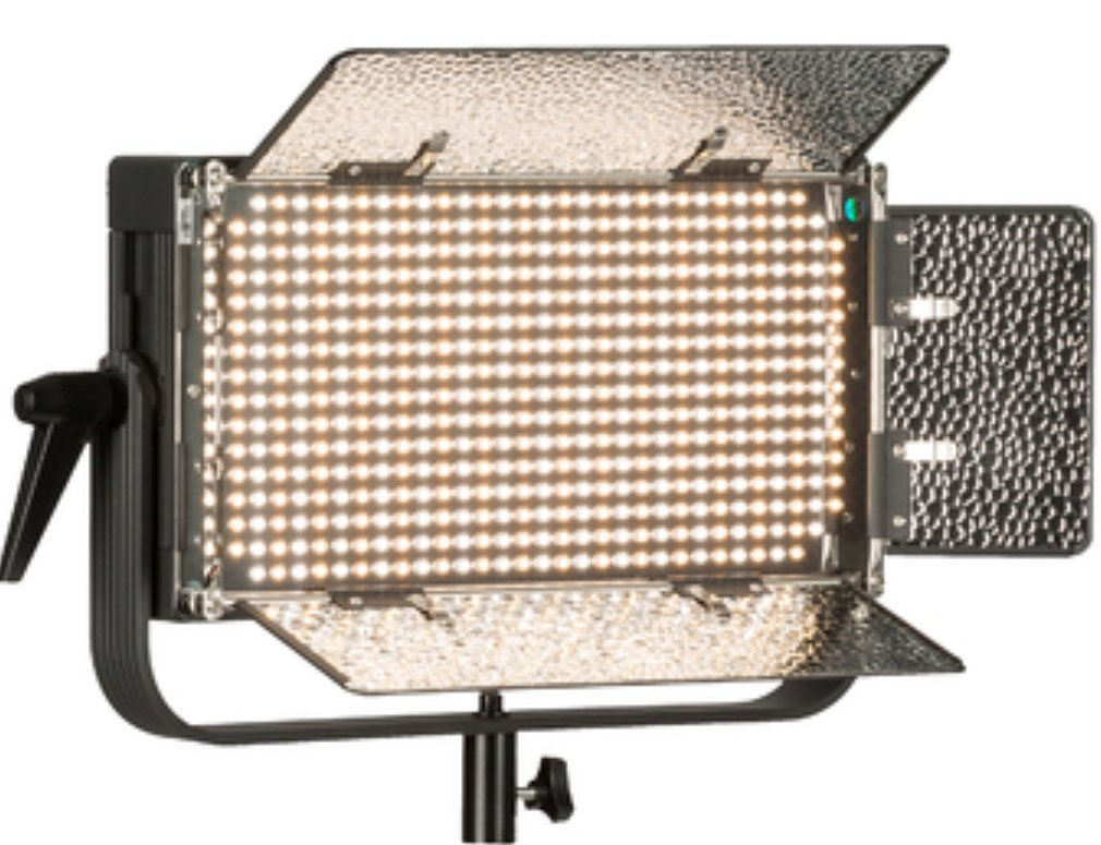 Bi-color LED Studio Light with Yoke & AB Mounting Plate