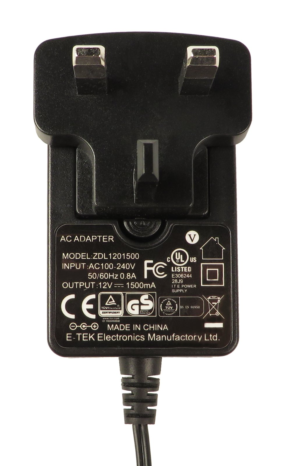 Novation / Focusrite 120V AC Adaptor