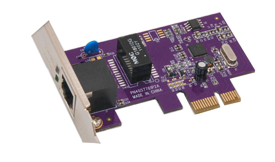 Presto Gigabit Ethernet Pro PCIe Card