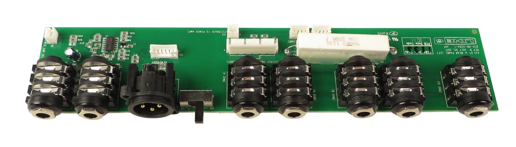 Back Panel PCB Assembly for DT25