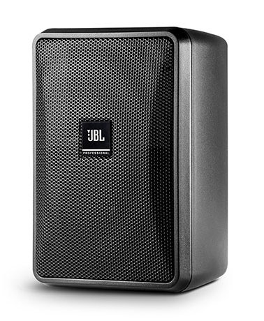 "Ultra-Compact Indoor/Outdoor Background/Foreground Speaker, Vented, 3"", Black, Priced Each/Sold in Pairs"